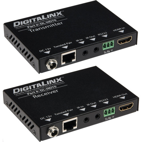 DL-HD70 Видео удлинитель/репитер DIGITALINX HDMI Over Twisted Pair Extender with Power and Control