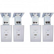 DL-HDCAT-WP передатчик и приемник видеосигнала DIGITALINX Digital Media Converter Set (Transmitter & Receiver Unit)