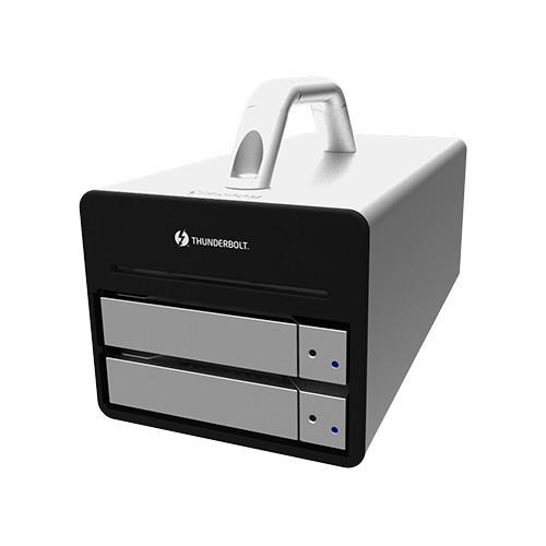 DR2-TB2 Дисковое хранилище STARDOM Sohoraid 2-Bay Thunderbolt 2 RAID Enclosure (Silver)