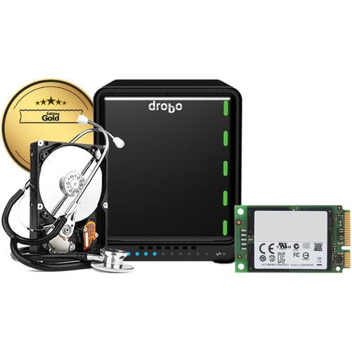 DRDR6A21-G Дисковое хранилище Drobo 5D3 5-Bay Thunderbolt 3 Enclosure (Gold Edition)