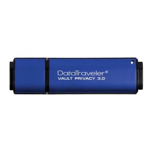 DTVP30/4GB Защищенный флэш-накопитель Kingston DataTraveler Vault Privacy 3.0 4GB, USB 3.0