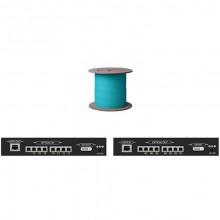 DVI-75-LC-DL Видео удлинитель/репитер APANTAC Dual/Single Link DVI Extender with 7 LC Fiber Optic and CAT5 Ports (Up to 246')