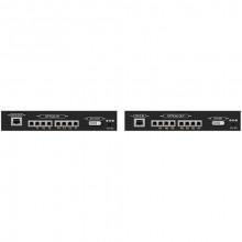 DVI-XX-LC-DL Видео удлинитель/репитер APANTAC DVI-D Single/Dual-Link over Multi-Mode Fiber Extender Set (330')