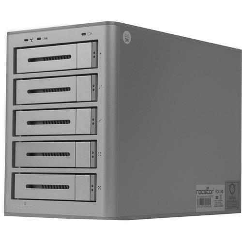E632XX-01 Дисковое хранилище Rocstor Rocsecure DE52 5-Bay USB 3.0 RAID Enclosure
