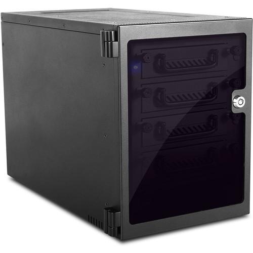 EAGE540TG-PM Дисковое хранилище iStarUSA 5-Bay SATA 6.0 Gb/s eSATA-Port Multiplier Hotswap Tower (Black)