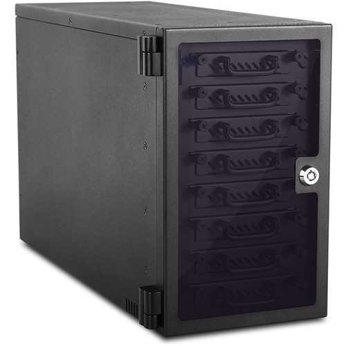 "EAGE8402TG-ES Дисковое хранилище iStarUSA 8-Bay 2.5"" SATA 6.0 Gb/s eSATA Hotswap Tower (Black)"