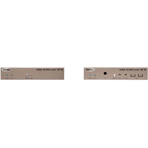 EXT-2VGAKVMPAK-LAN передатчик и приемник видеосигнала GEFEN VGA KVM over IP Transmitter & Receiver Kit