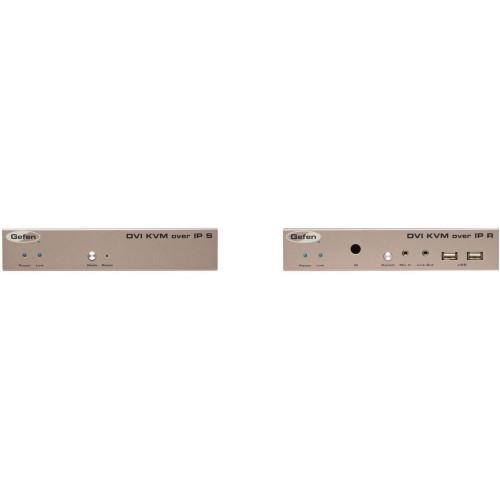 EXT-DVIKVM-LAN передатчик и приемник видеосигнала GEFEN DVI KVM over IP Transmitter & Receiver Kit