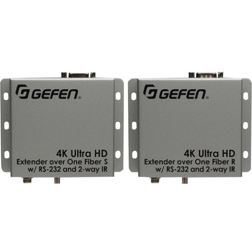 EXT-HDRS2IR-4K2K-1FO Видео удлинитель/репитер GEFEN 4K Ultra HD HDMI/Serial/IR Extender over One Fiber