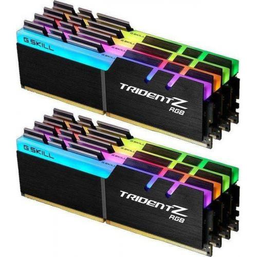 Оперативная память ADATA Trident Z RGB DDR4 128GB 8x16GB 3200MHz CL15 (F4-3200C15Q2-128GTZR)
