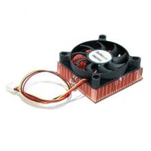 FAN3701U Вентилятор Startech 1U 60x10mm Socket 7/370 CPU Cooler Fan w/ Copper Heatsink and TX3