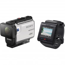 FDRX3000R/W Экшн-камера SONY FDR-X3000 Action Camera with Live-View Remote
