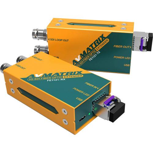 FE1121 Видео удлинитель/репитер AV MATRIX 3G-SDI Fiber Optic Extender (12.4 Miles)