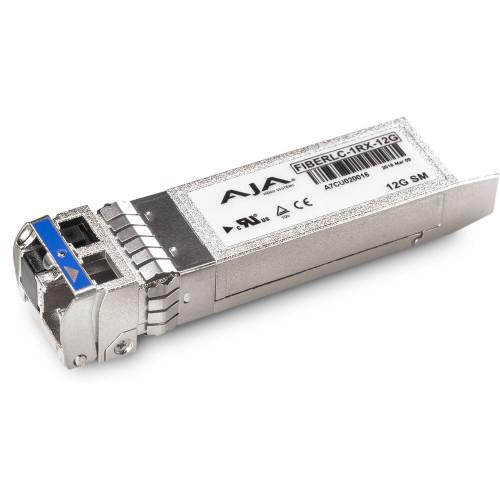 FIBERLC-1RX-12G приемник видеосигнала AJA 12G-SDI Single Fiber LC Receiver Single-Mode