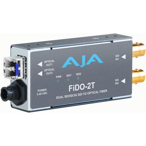 FIDO-2T-X Конвертер / преобразователь AJA FiDO-2T Dual Channel 3G-SDI To LC Fiber Converter