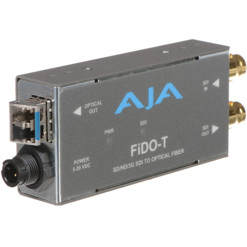 FIDO-T Конвертер / преобразователь AJA FiDO Single-Channel 3G-SDI to LC Fiber Mini Converter