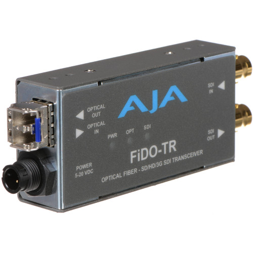 FIDO-TR Видео удлинитель/репитер AJA FiDO Single-Channel 3G-SDI / LC Fiber Transceiver
