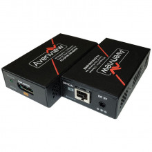 FO-DP4K-300-EMIX-R приемник видеосигнала AVENVIEW 4K DisplayPort Receiver over Single SC Fiber Optic Cable