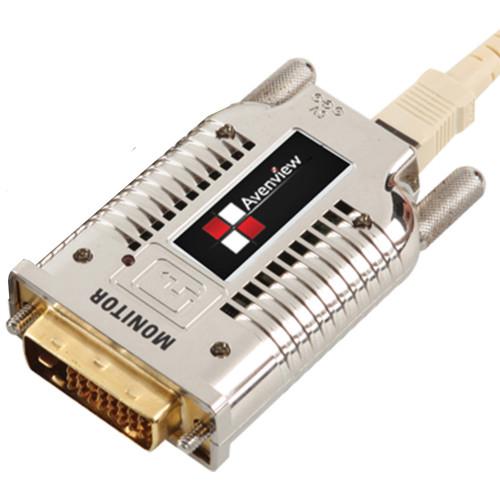 FO-DVI-1000M-EMI-R приемник видеосигнала AVENVIEW DVI Extender over Fiber with EMI Shielding (3300', Receiver)