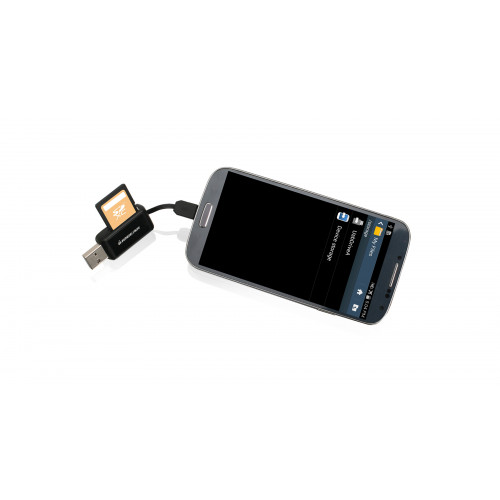 GOFR214 Кард-ридер Iogear GoFor2 - USB OTG Card Reader for PC/Mac and Mobile Devices