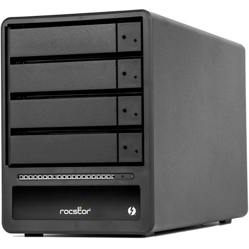 GP33XX-01 Дисковое хранилище Rocstor Rocpro T34 Enclosure/ 4-Bay/ Desktop Raid/ Dual Thunderbolt 3/ Mini DP
