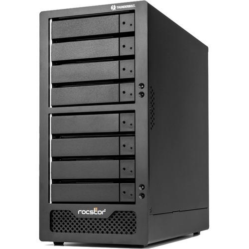 GP35XX-01 Дисковое хранилище Rocstor Rocpro T38/ Enclosure/ 8-Bay/ Desktop Raid/ Dual Thunderbolt 3/ Mini DP