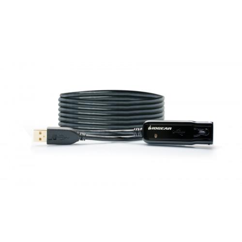GUE2118 USB Удлинитель Iogear USB 2.0 Booster Extension Cable - 39ft