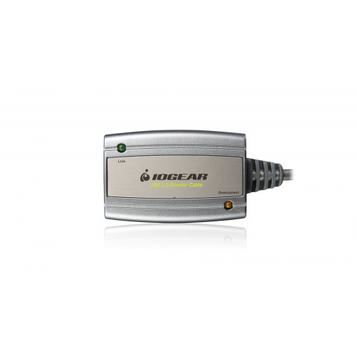 GUE216 USB Удлинитель Iogear USB 2.0 Booster Extension Cable - 16ft