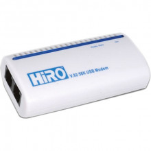 H50113 Модем HiRO H50113 V92 56K External USB Data Fax Voice Dial Up