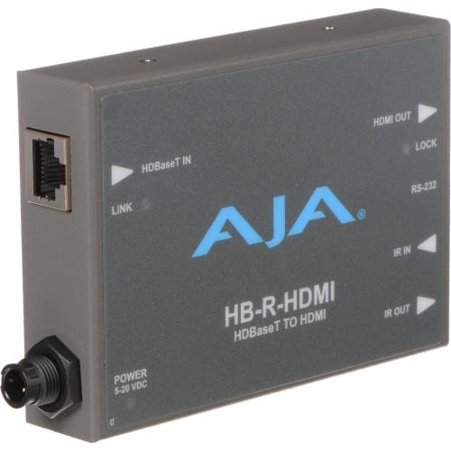 HB-R-HDMI приемник видеосигнала AJA HDBaseT to HDMI Receiver
