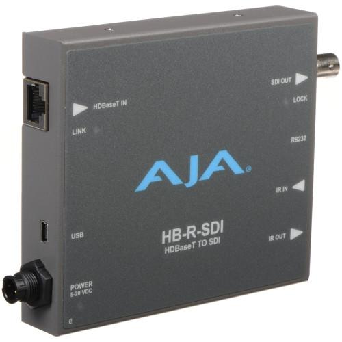 HB-R-SDI приемник видеосигнала AJA HDBaseT to SDI Receiver