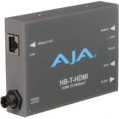 HB-T-HDMI передатчик видеосигнала AJA HDMI to HDBaseT Transmitter