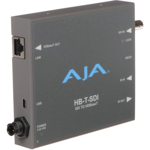 HB-T-SDI передатчик видеосигнала AJA SDI to HDBaseT Transmitter