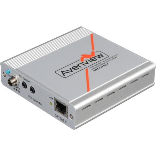 HBT-C6POE-R приемник видеосигнала AVENVIEW HDBaseT PoE Cat5/6/7 Receiver