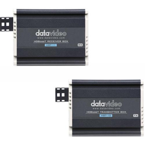 HBT-KIT передатчик и приемник видеосигнала DATAVIDEO HBT-10 HDBaseT Transmitter & HBT-11 HDBaseT Receiver HDMI Extender Kit