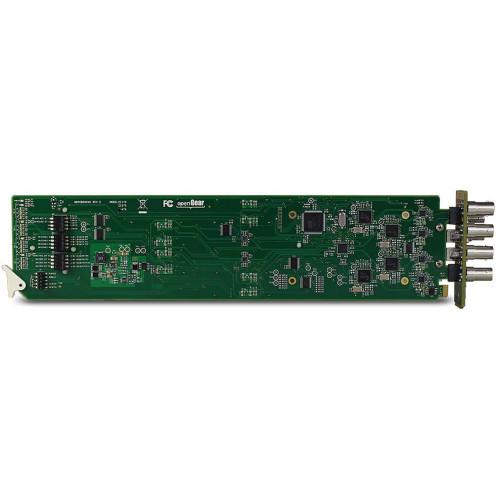 HD-4300-OGFTX50 передатчик видеосигнала JVC Three-Channel 3G-SDI openGear Transmitter Card