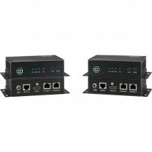 HDBASE100ME Видео удлинитель/репитер KANEXPRO HDBaseT Extender with 2-Port Ethernet Switch (330')