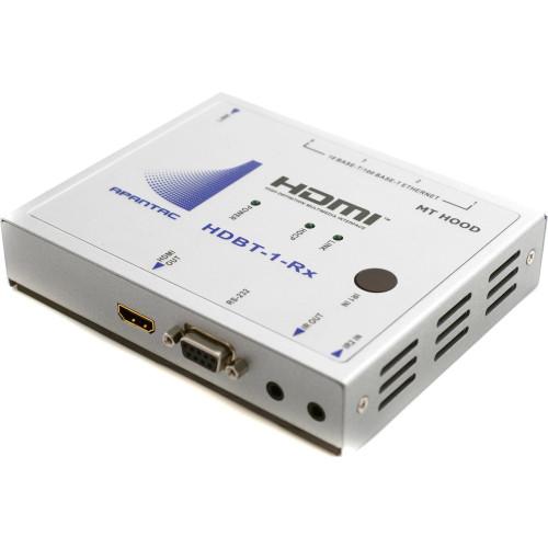 HDBT-1-RX приемник видеосигнала APANTAC Single-Port HDBaseT HDMI Receiver with IR, RS232, Ethernet, POE