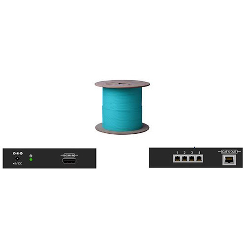 HDMI-100-LC Видео удлинитель/репитер APANTAC Single Link HDMI Extender with Four LC Fiber Optic Cables (Up to 330')