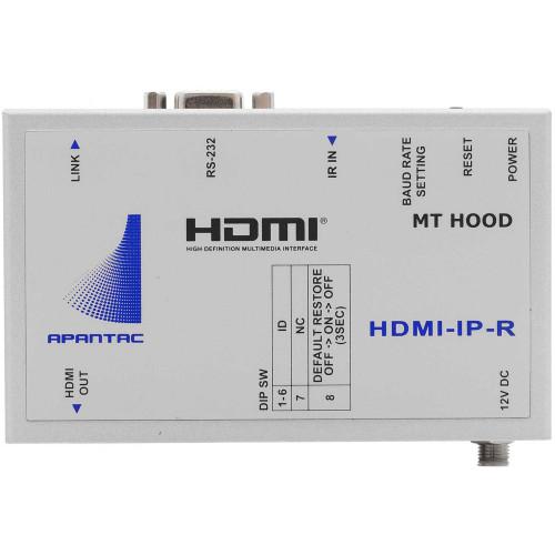 HDMI-IP-R приемник видеосигнала APANTAC Single-Port HDMI/RS232/IR over Ethernet Receiver (Up to 328')