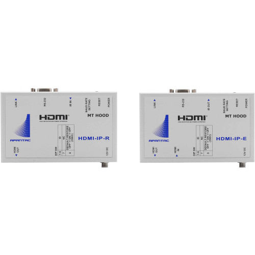 HDMI-SET-9 передатчик и приемник видеосигнала APANTAC Single-Port HDMI/RS-232/IR Transmitter & Receiver Kit over Ethernet (328')