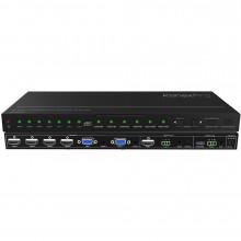 HDSC61D-4K Видео коммутатор KANEXPRO 6-Input Collaboration Switcher & Scaler with 4K HDMI Output