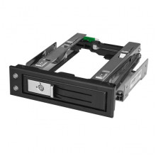 "HSB13SATSASB Карман для HDD StarTech 5.25 to 3.5 Hard Drive Hot Swap Bay - For 3.5"" SATA/SAS Drives - Trayless"