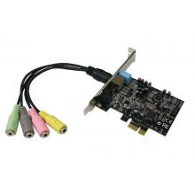 IC-510211-S1 Звуковая карта SIIG DP SoundWave 5.1 PCIe