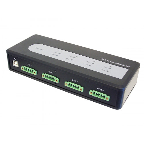 ID-SC0A11-S1 Концентратор SIIG 4-Port Industrial USB to 422/485 Serial Adapter with 3KV Isolation