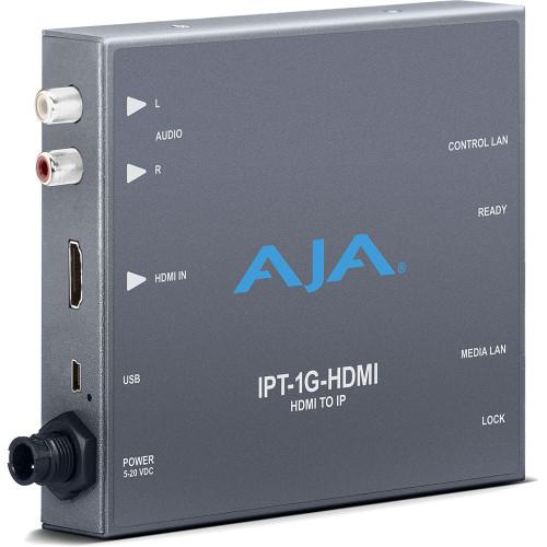 IPT-1G-HDMI Конвертер / преобразователь AJA HDMI Video and Audio to JPEG 2000 Converter