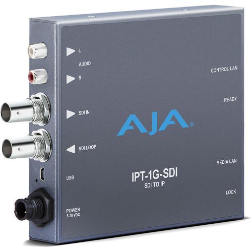 IPT-1G-SDI Конвертер / преобразователь AJA 3G-SDI Video and Audio to JPEG 2000 Converter