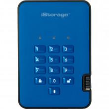 IS-DA2-256-3000-BE Защищенный Жесткий диск ISTORAGE 3TB diskAshur2 USB 3.1 (Ocean Blue)