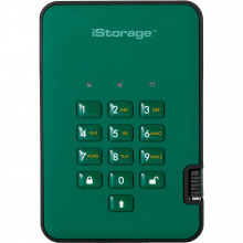 IS-DA2-256-3000-GN Защищенный Жесткий диск ISTORAGE 3TB diskAshur2 USB 3.1 (Racing Green)