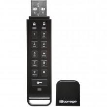 IS-FL-DAP3-B-64 Защищенный USB флэш-накопитель ISTORAGE Datashur Personal2 64GB USB3 256-Bit